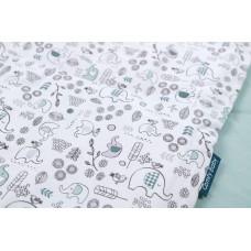 Comfy Living - 6 Pcs Bedding Set *Elephant Green*