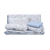 Comfy Living - 6 Pcs Bedding Set *Jungle Blue*