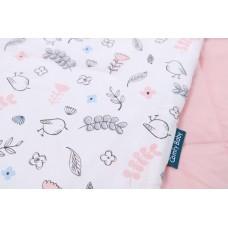 Comfy Living - Bolster & Pillow Set (S)  *Sparrow Pink*