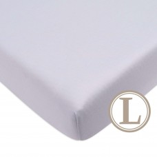 Comfy Living -  Fitted Sheet (L) 70X130cm  *Plain Grey*