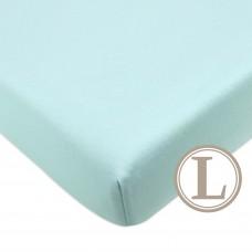 Comfy Living -  Fitted Sheet (L) 70X130cm  *Plain Green*