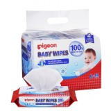 Pigeon - Baby Wipes 100% Pure Water 80's (6in1) *BEST BUY