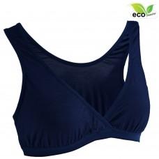 Autumnz - TILIA Bamboo Sleep Bra*w removable cup padding* NAVY BLUE