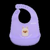 Snapkis - Oh-So-Soft Silicone Bib *Llama*