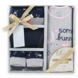 Lilsoft Baby - 4pcs Gift Box *WM-316002 Some Bunny Love Me*