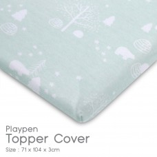Comfy Living - Playpen Topper Cover