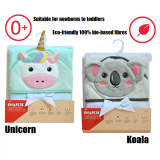 Snapkis - 2 Sided Hooded Towel