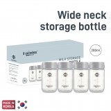 Haenim - Wide Neck Milk Storage Bottle 4 pcs *7oz/200ml*