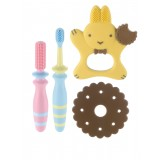 Richell - Baby Toothbrush Set *From 3 Months Onwards*
