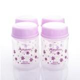 Autumnz - Wide Neck Breastmilk Storage 4 Bottles (5oz)  Twinkle*Lilac*
