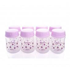 Autumnz - Wide Neck Breastmilk Storage 8 Bottles (5oz) Twinkle *Lilac*