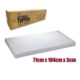 Comfy Baby - Travel Cot Topper 71x104x3cm