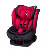 Quinton - Silver Safety Car Seat *Red*