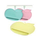 Quinton - Apple Silicone Baby Food Mat