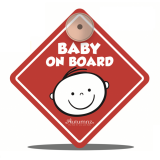 Autumnz - Baby On Board Sign (Cutest Me) *Red*