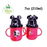 Anakku - Disney Baby Mickey & Minnie Flip Top Straw Cup 7oz/210ml
