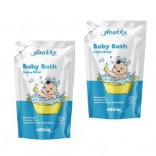 Anakku -  Baby Bath Refill 600ml x 2* BEST BUY