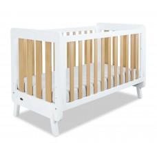 Comfy Baby - 5in1 Luca Wooden Baby Cot (Bundle Set)