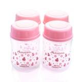 Autumnz - Wide Neck Breastmilk Storage 4 Bottles (5oz)  Ladybird *Pink*
