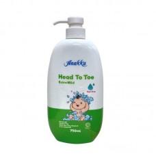 Anakku - Head To Toe Body Wash 750ml