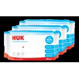 NUK - Anti Bacterial Wet Wipes (3 Packs of 80pcs) *BEST BUY