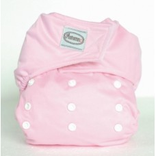 Autumnz - One Size Button Diaper * FREE 2 Inserts* - Pink