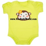 Jumping Beans - SS Romper *Sweeetie Monkey*