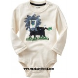 Adorable - LS Romper *I Am The King*