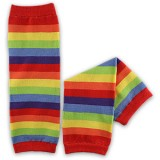 Leg Warmers - Rainbow