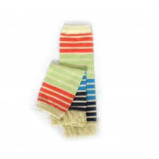 Leg Warmers - Four Tone Stripes