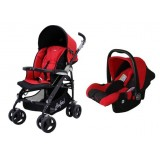 Halford- s8 Pramette Travel System *Red*