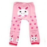 Legging Pants - Pink Bunny