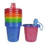The First Years - Take & Toss 7oz Spill-Proof Cups (6-pack)