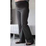Autumnz - SWISH Maternity Wide-Leg Long Pants *Graphite*
