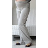 Autumnz - SWISH Maternity Wide-Leg Long Pants *Pewter*