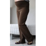 Autumnz - SWISH Maternity Wide-Leg Long Pants *Mocha*