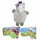 Farm Animal Puppet Cloth Book - Hee Haw Horse