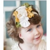Adorable Sunshine Headband - Yellow/Green