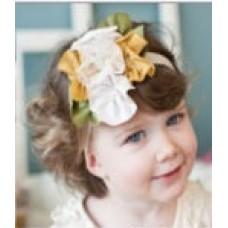Adorable Sunshine Headband - Yellow/Green