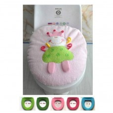 Adorable WashableToilet Seat Cover *Perky Princess*