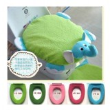 Adorable WashableToilet Seat Cover *Ellie Elephant*