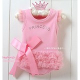 Adorable Posh Romper - Glitzy Princess