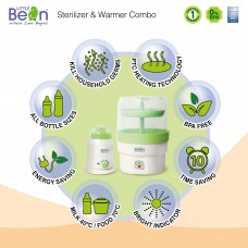 Little Bean - Sterilizer & Home Warmer Combo Pack (BPA FREE)