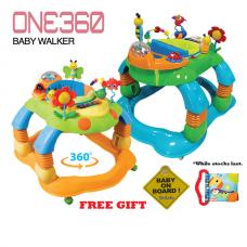 Little Bean - Premium One 360 Baby Walker