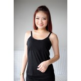 Autumnz- ALISON Padded Nursing Tank *Black*