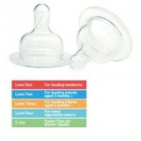 Dr Brown's - Wide Neck Silicone Teats 2pcs *BPA Free*
