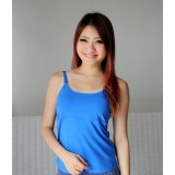 Autumnz- ALISON Padded Nursing Tank *Midnight Blue*