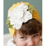 Adorable Country Pixie Hat - Yellow Drop