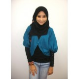 Cropped Cardigan - 3/4 Sleeve *Teal*