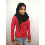 Inner with turtle neck- Red
